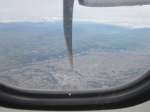 Flying into Cuenca