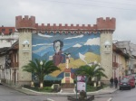 Mural of Bolivar, Loja, Ecuador