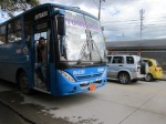 Newer Cuenca blue bus, not the one I fell from